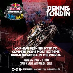 Dennis Tondin red bull