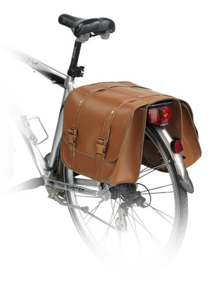 Vintage bicycle pannier bags, a perfect mix of style and practicality