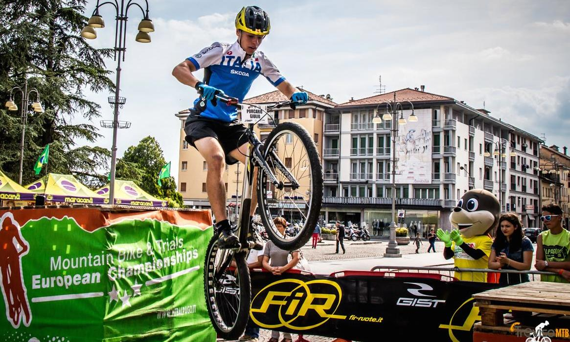 Gist at the MTB Alpago European Championships