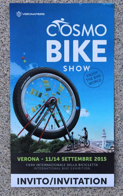 Cosmo Bike Show di Verona! #PortacInGiro