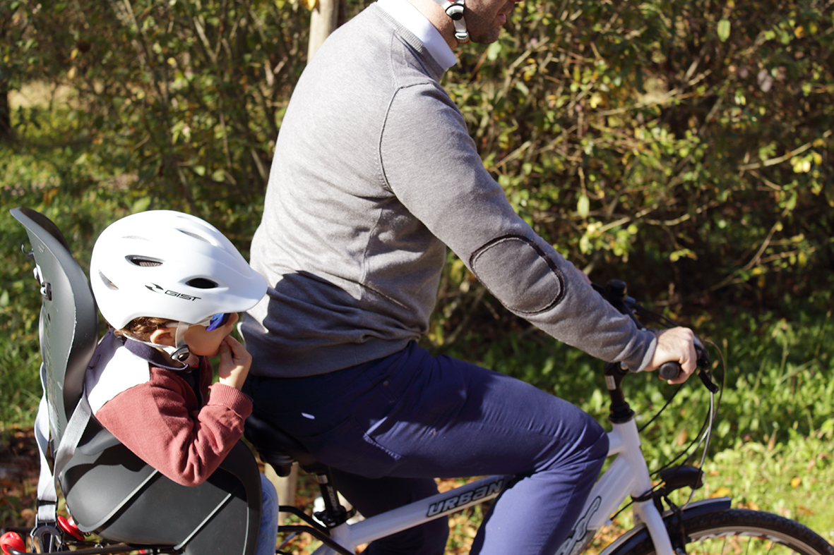 Cycling helmets for children: bicycle safety counts!