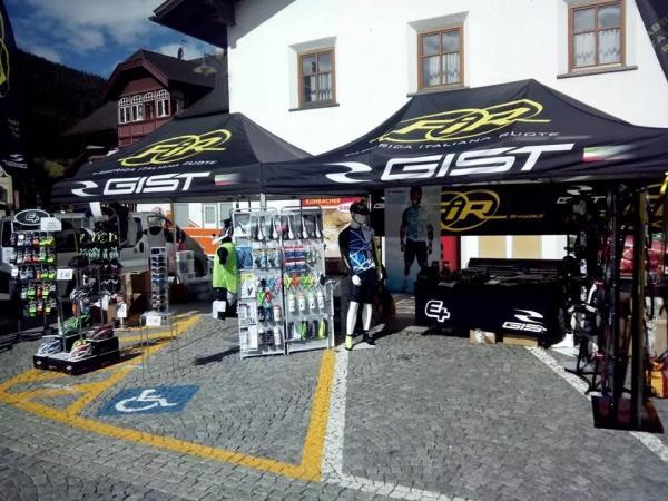 Gist Italia alla Dolomiti Superbike 2014