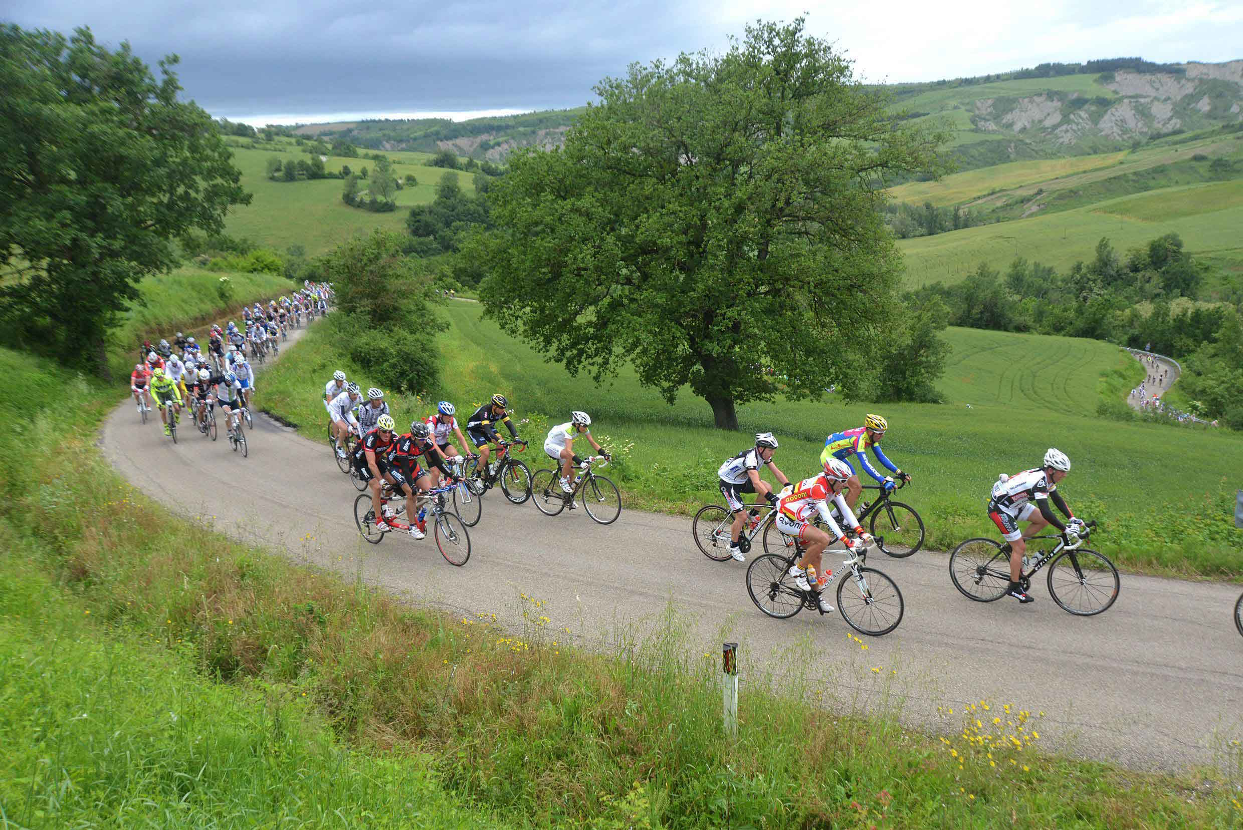 Cycling races: the never ending story of the Nove Colli